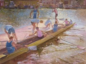 At the Raft, Henley, 1993 by Timothy Easton