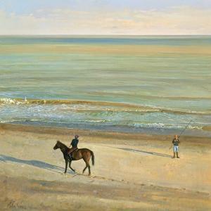 Beach Dialogue, Dunwich by Timothy Easton