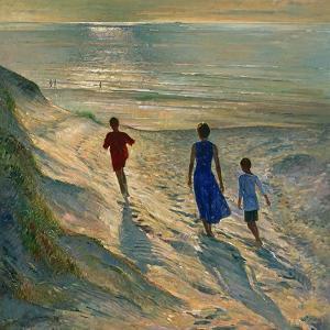 Beach Walk, 1994 by Timothy Easton