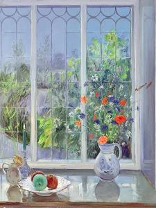 Moonlit Flowers, 1991 by Timothy Easton