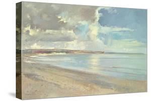 Reflected Clouds, Oxwich Beach, 2001 by Timothy Easton