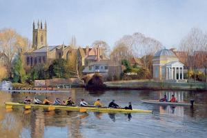 Winter Training at Hampton by Timothy Easton