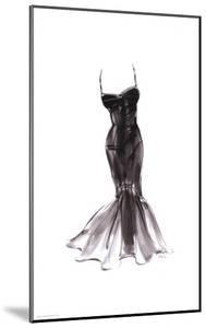 Black Dress with Flair by Tina