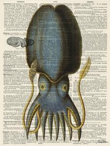 Squid 1 by Tina Carlson