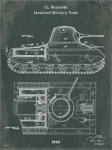 Tank 1 Green by Tina Carlson