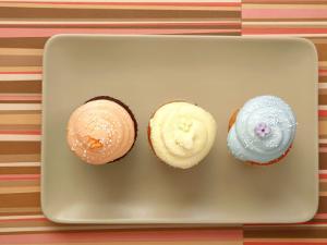 Three Cupcakes by Tina Chang