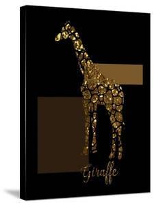 1 Gold Giraffe by Tina Lavoie