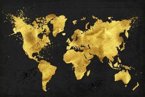 24 Karat World in Black by Tina Lavoie