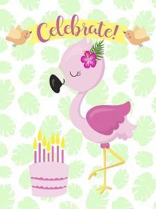 Flamingo Celebrate by Tina Lavoie