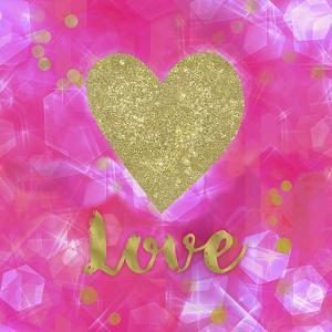 Glitter Love Pink by Tina Lavoie