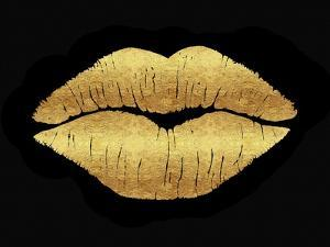 Gold Leaf Kiss by Tina Lavoie