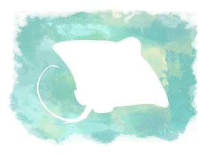 Heart of the Sea Manta Ray by Tina Lavoie