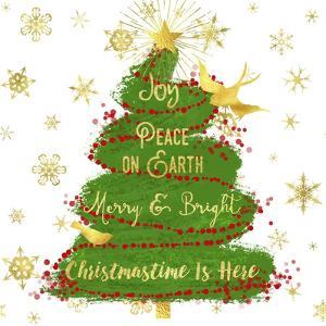 Joy Christmas Tree by Tina Lavoie