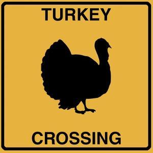 Turkey Crossing by Tina Lavoie