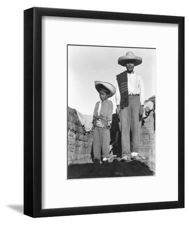 Campesino and Son, State of Veracruz, Mexico, 1927