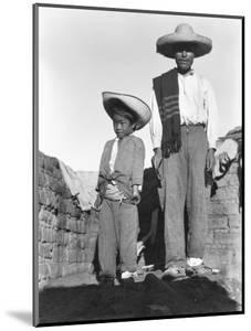 Campesino and Son, State of Veracruz, Mexico, 1927 by Tina Modotti