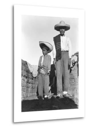 Campesino and Son, State of Veracruz, Mexico, 1927