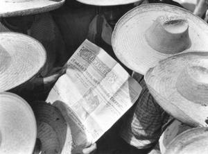 Campesinos Reading El Machete, Mexico City, 1929 by Tina Modotti