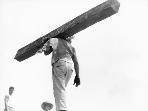Construction Worker, Mexico City, 1927 by Tina Modotti