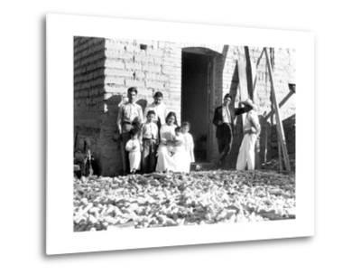 Family with Corn, State of Veracruz, Mexico, 1927