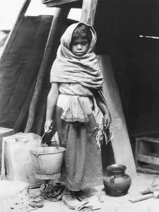 Girl Carrying Water, Mexico, 1927 by Tina Modotti