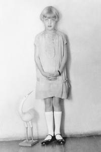 Girl with Stork, Mexico City, C.1926 by Tina Modotti