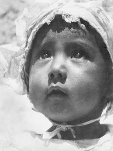 Lupe Rivera Marin, First Daughter of Diego Rivera and Lupe Marin, Mexico City, 1924 by Tina Modotti