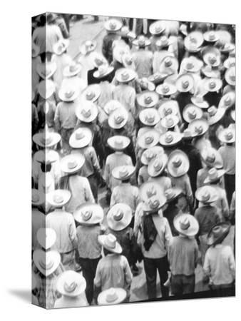 March of the Workers, Mexico City, 1926