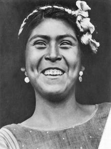 Woman of Tehuantepec, Mexico, 1929 by Tina Modotti