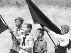 Young Pioneers, Berlin, Germany, 1930 by Tina Modotti