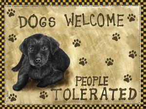 Dogs Welcome by Tina Nichols