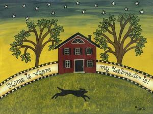 Home Is Where My Labrador Is by Tina Nichols