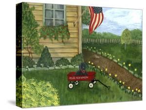 My Li'l Red Wagon by Tina Nichols