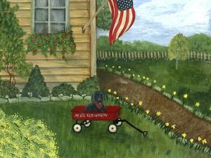 My Li'l Red Wagon by Tina Nichols