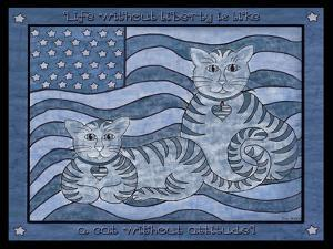 Patriotic Cats by Tina Nichols
