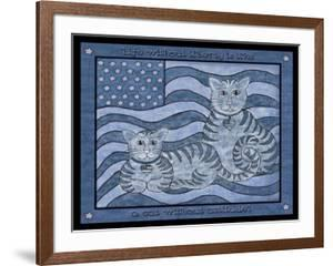 Patriotic Cats by Tina Nichols