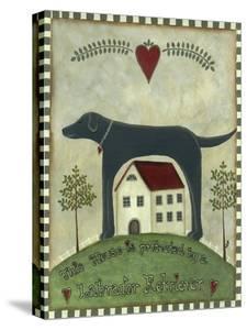 Primitive Labrador 2 by Tina Nichols