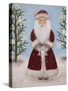 Snowflake Santa by Tina Nichols