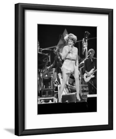 Tina Turner Performing