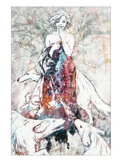 Tinderbox-Alex Cherry-Art Print