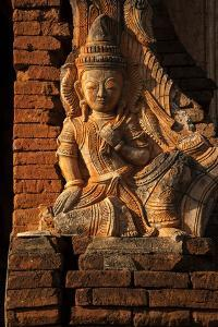 A Relief Carving at One of the Shwe Inn Thein Pagodas by Tino Soriano