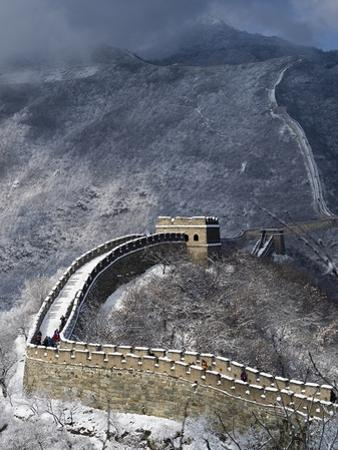 The Great Wall of China by Tino Soriano