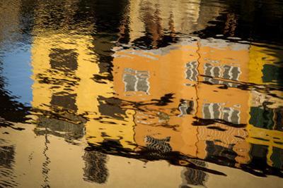 The Ponte Vecchio Reflected in the Arno River by Tino Soriano