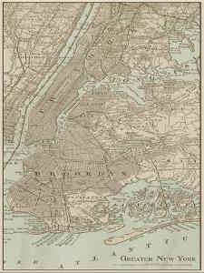 Tinted Map of New York