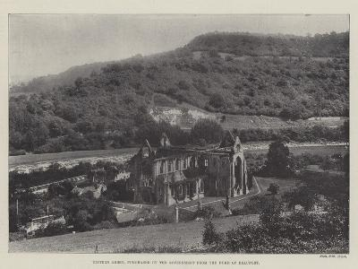 Tintern Abbey, Purchased by the Government from the Duke of Beaufort--Giclee Print