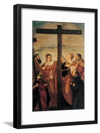 Adoration of the Cross (Sts. Helen, Barbara, Andrew, Macarius)