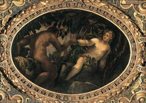 Original Sin by Tintoretto