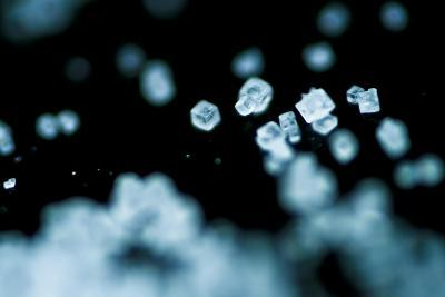 Tiny Salt Crystals-oriontrail2-Art Print