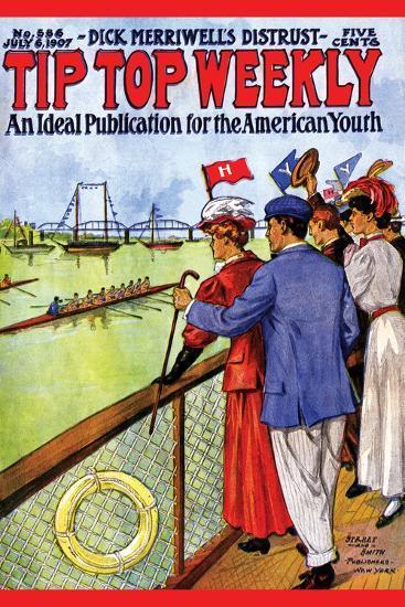 Tip Top Weekly- Street & Smith-Art Print