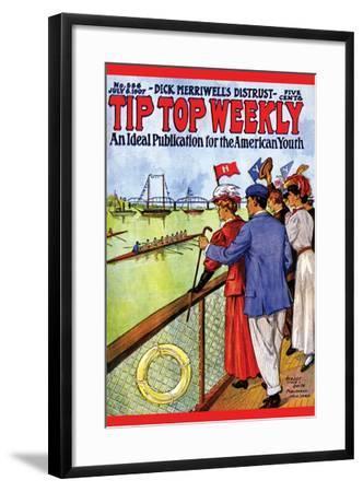 Tip Top Weekly- Street & Smith-Framed Art Print
